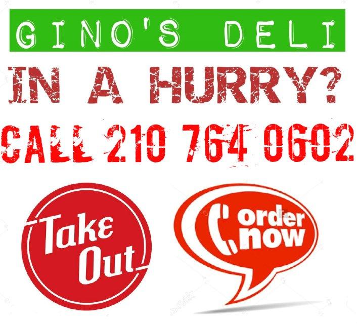Gino's Deli 13210 Huebner Rd San Antonio TX 210-764-0602