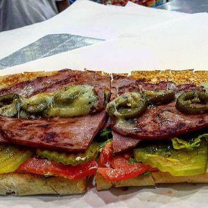 Ham Sandwich Gino's Deli