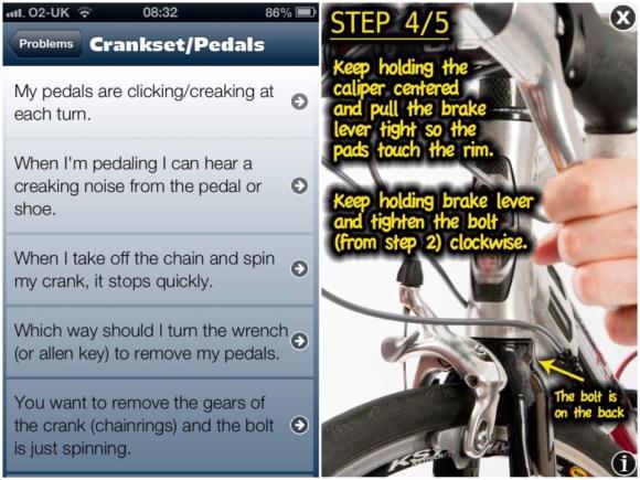 bike repair app guide