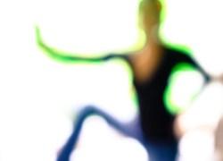blurry art photo