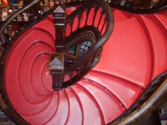 Escaliers de la librairie