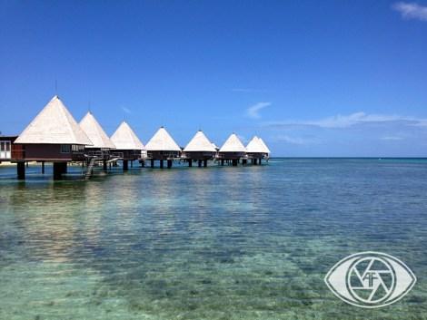 L'hotel Escapade sur l'îlot Maitre