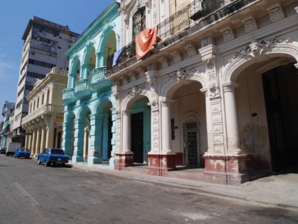 Des bâtiments à Cuba