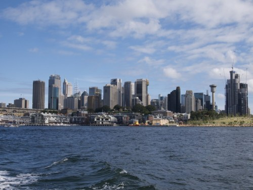 Le CBD de Sydney