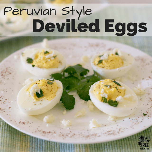 Peruvian Deviled Eggs