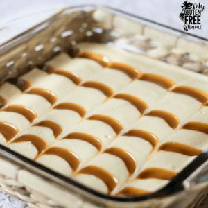 gluten free cheesecake brownies