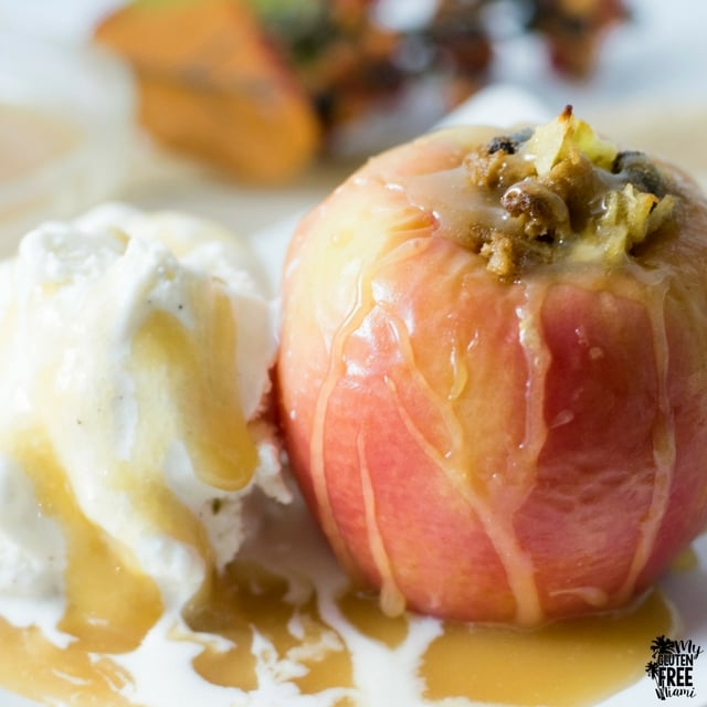 Inside Out {Gluten Free} Apple Crisp