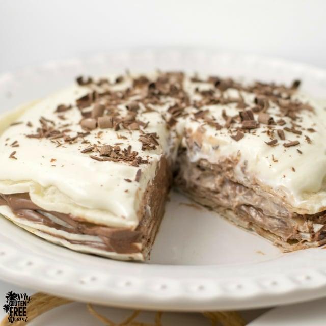 No Bake {Gluten Free} Mexican Dessert Torte