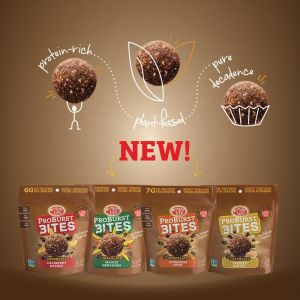 Enjoy Life Foods ProBurst Bites are chocolatey bites full of protein, perfect for snacking or that mid-afternoon chocolate craving!