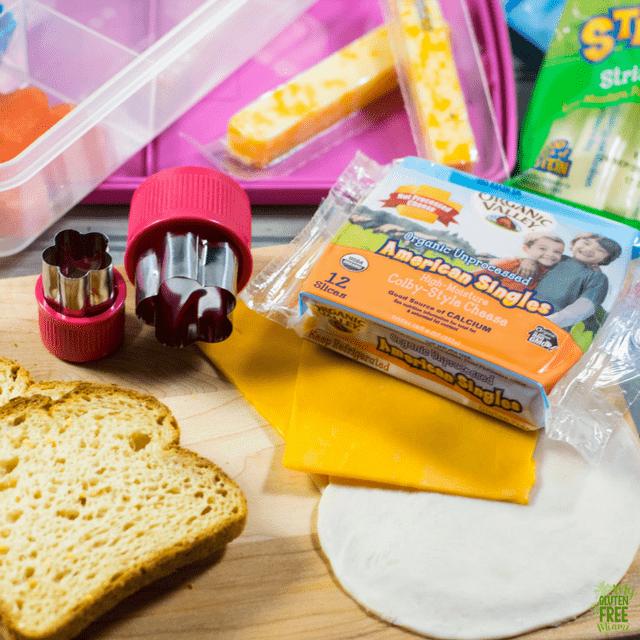 Gluten Free toddler lunch