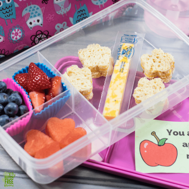 Gluten Free Toddler Lunch- Fun and Simple with Printable Notes!