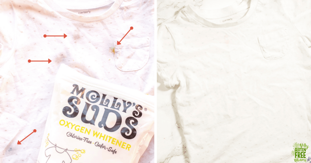 molly's suds oxygen whitener shirt example
