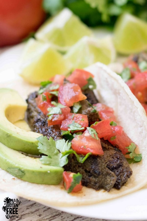 budget friendly steak tacos with fresh tomato salsa