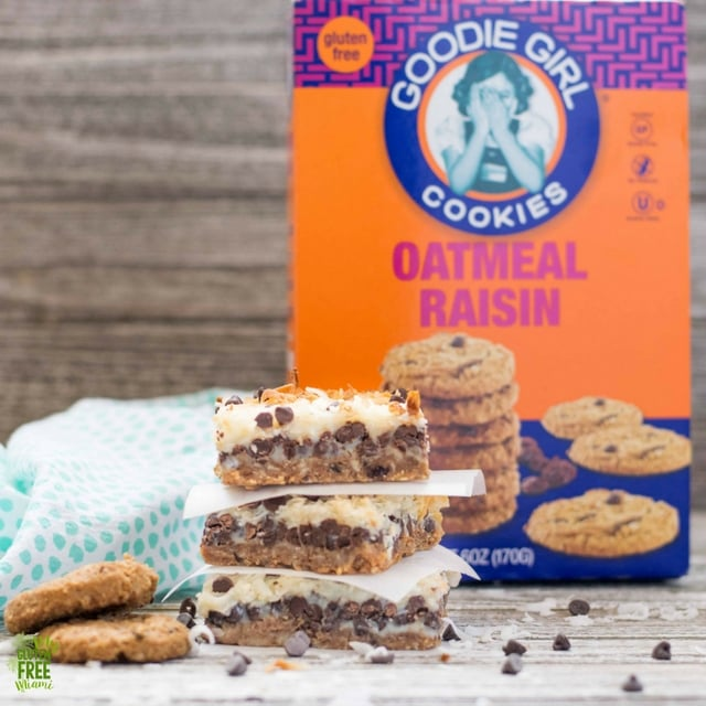 Goodie Girl Oatmeal Cookies and magic bars