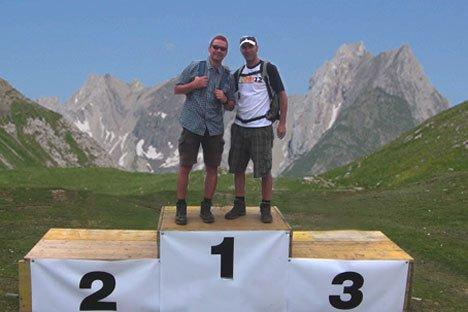 Ulf Kühne und Jens Hepper werden dieses Jahr den Transalpine-Run laufen