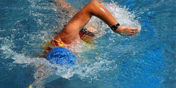 Schwimmen, Kraultechnik im Triathlon