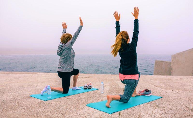 Yoga für Läufer, iStock doble-d