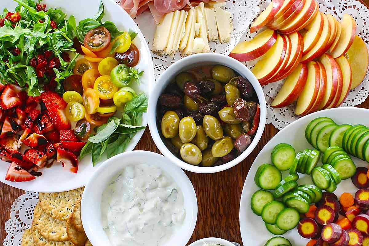 Gesund essen bedeutet bunt essen