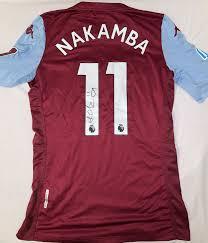 Nakamba Lose Number 11 Jersey