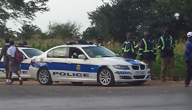 Six Police Officers Involved in Theft