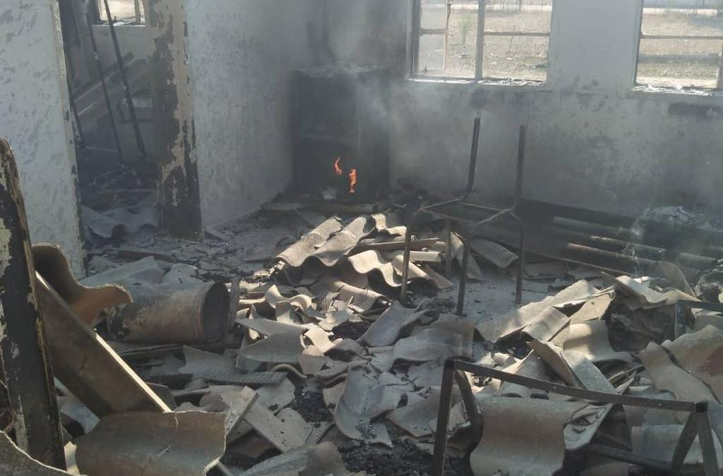 Fire Destroyed Sengwa Clinic Leaves Residents with Long Distance Travels to Endure