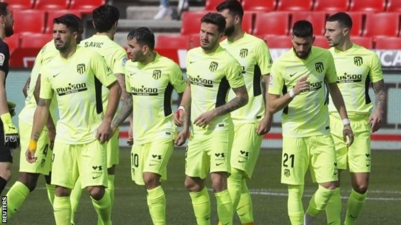 Atletico Madrid Outshines Granada to Command 8 Points Clear