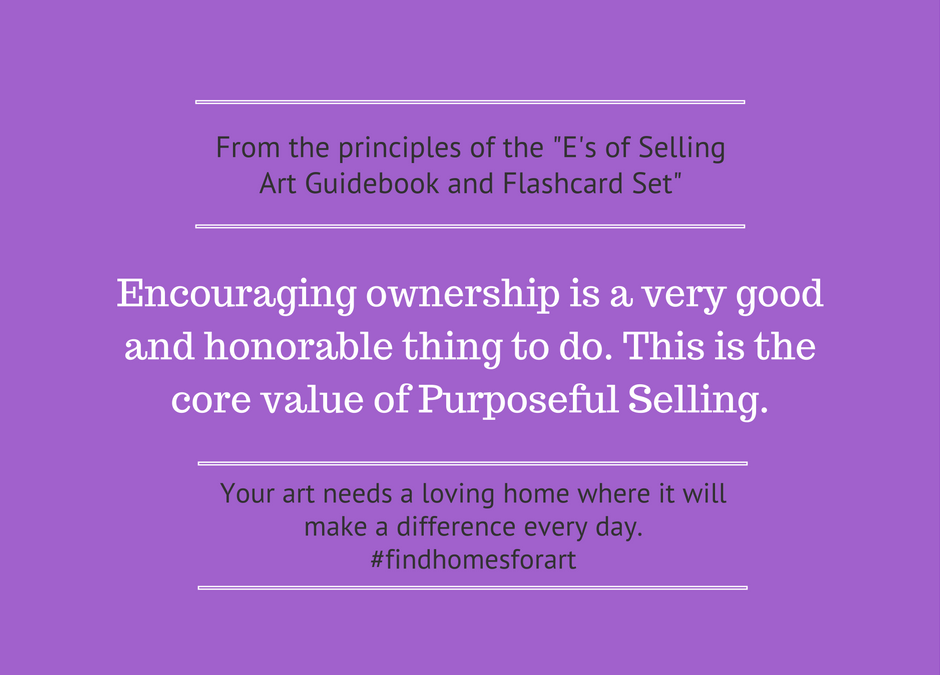 My Selling Purpose is to ___________________________