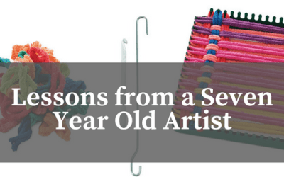 Lessons from a Seven Year Old Artist