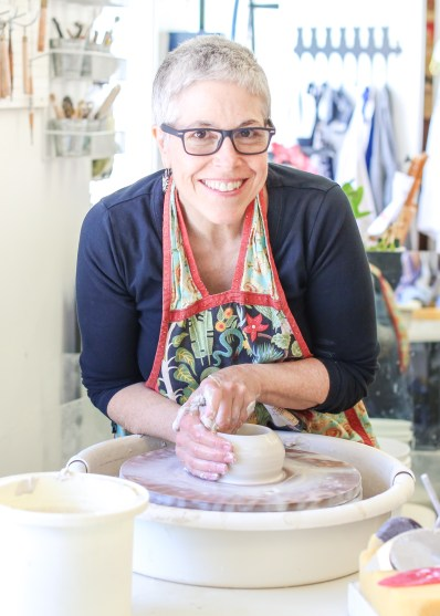 Patricia Griffin is a ceramic artist