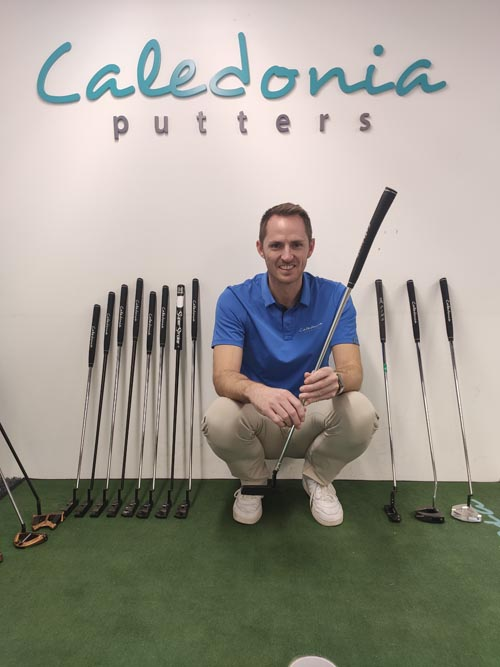 Caledonia Putters Robbie Sowden