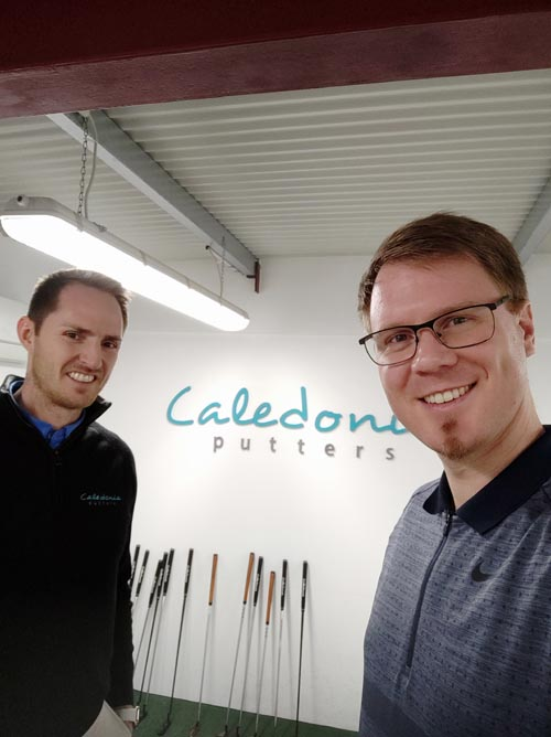 Caledonia Putters Robbie Sowden Andreas Furch