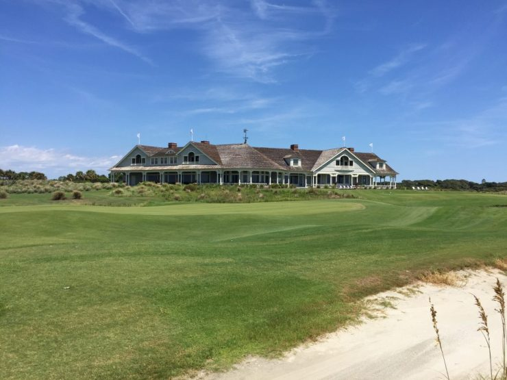 18th green at Kiawah Island Ocean course