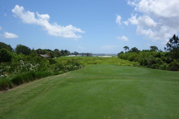 Tee shot 17th at Floridan National Golf Club