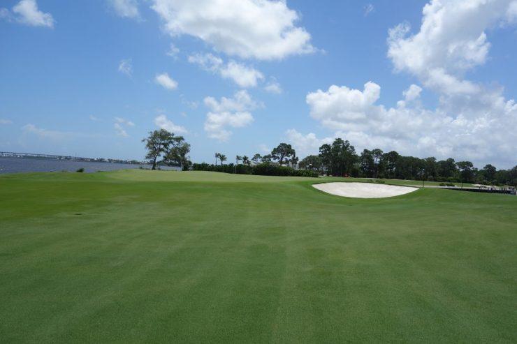 18th green at Floridan National Golf Club