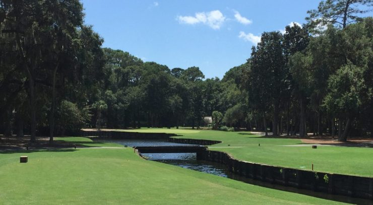 4th hole at Harbour Town Links