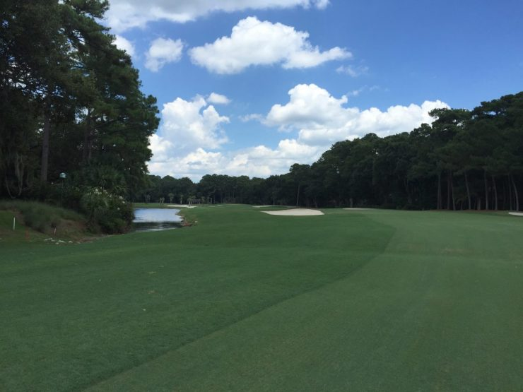 5th hole at Harbour Town Links