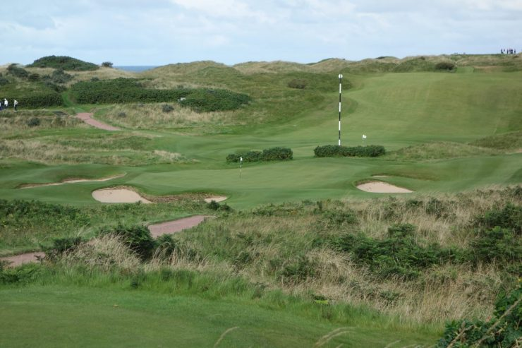 Par 3 11th at Royal Portrush Dunluce links