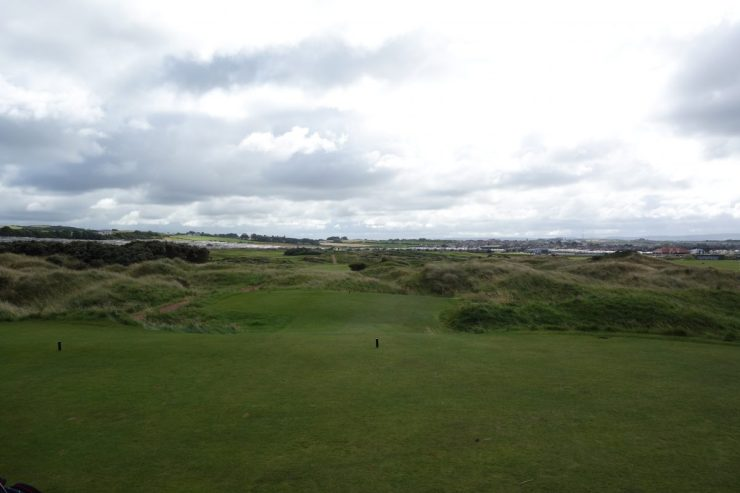 15th at Royal Portrush Dunluce links