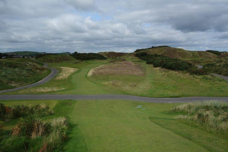10th hole par 3 at Royal County Down