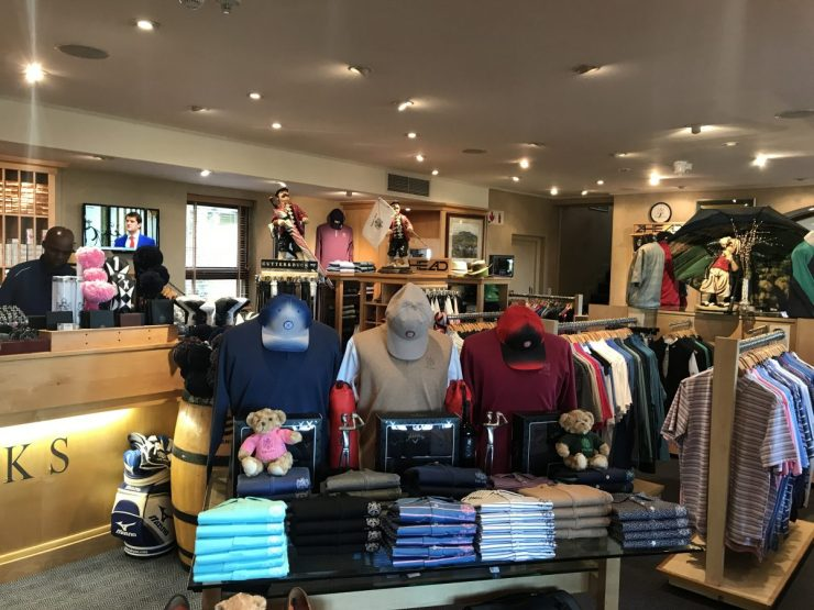 the pro shop at fancourt links
