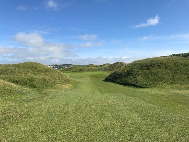 lahinch golf club hole 14