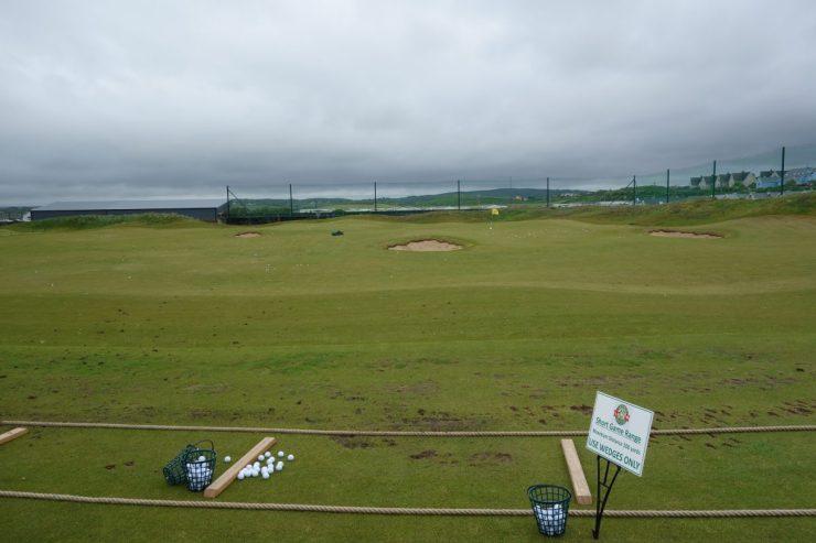 lahinch golf club practice area