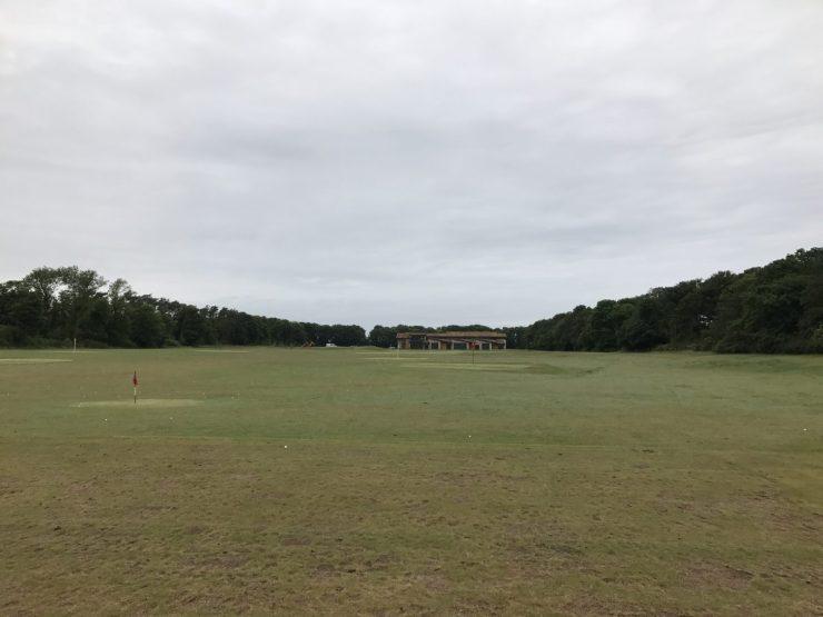 driving range at kingbarns golf links