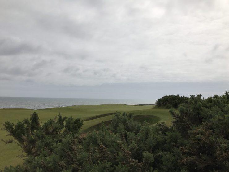 hole 4 at kingbarns golf links