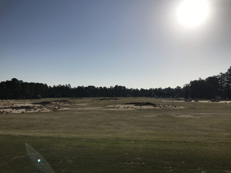 driving range at pinehurst