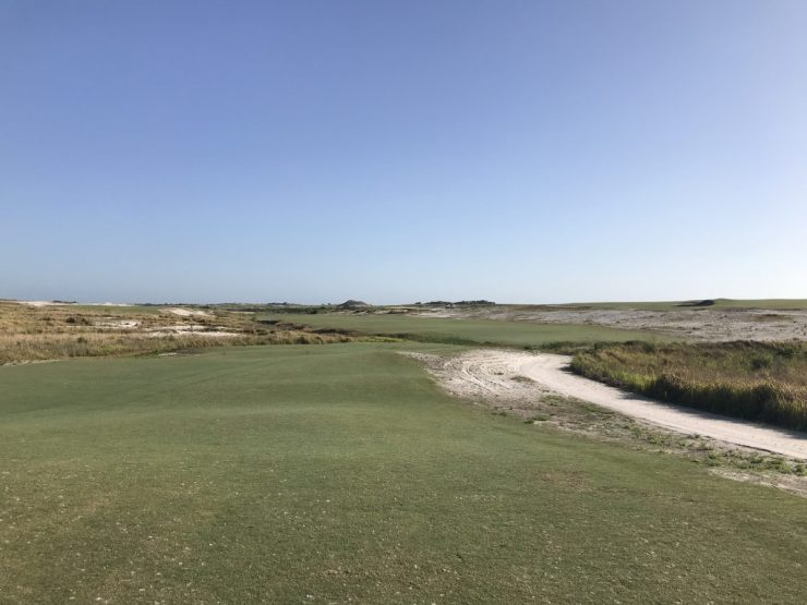 4th hole at streamsong black
