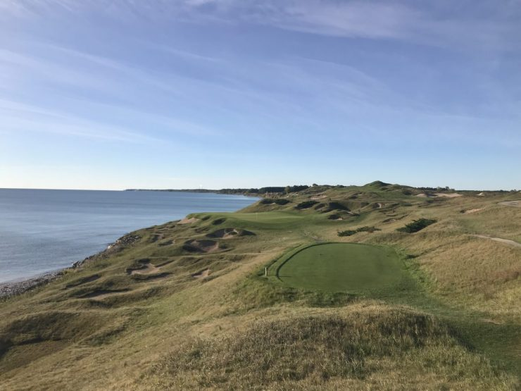 3rd hole Whistling straits