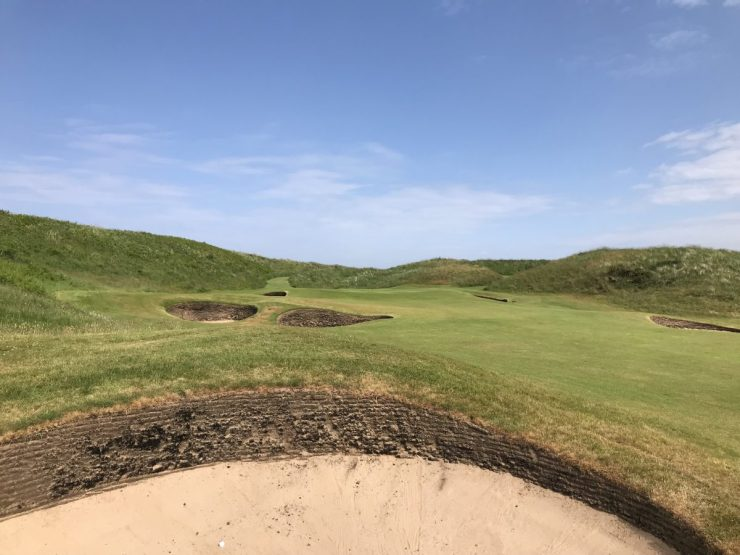 Hole 5 Turnberry Ailsa
