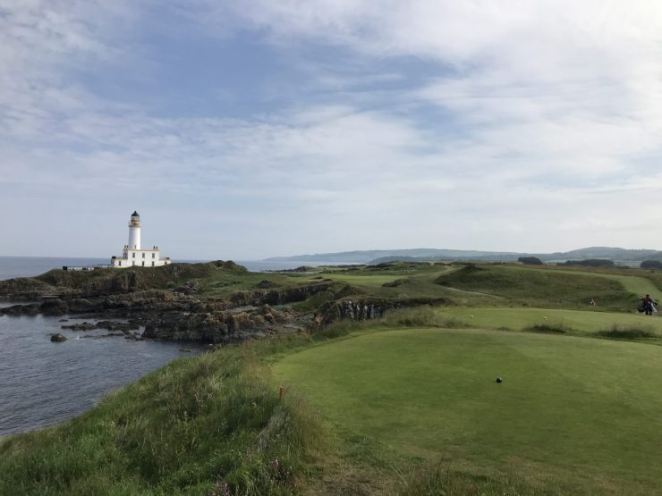 Turnberry Ailsa hole 9