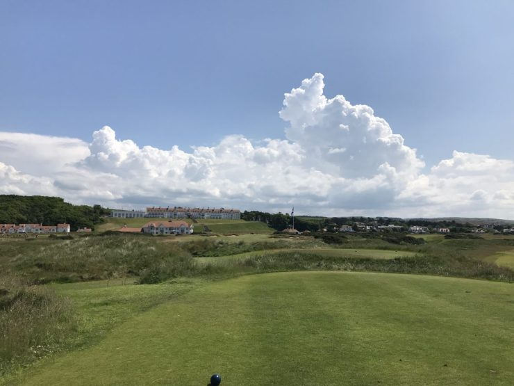 18th hole Turnberry